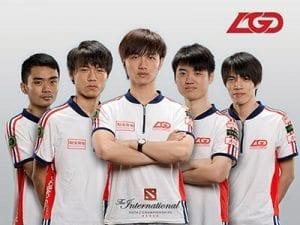 LGD Gaming eSports team