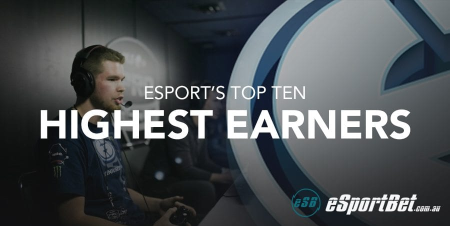 Top 10 highest earners in eSports