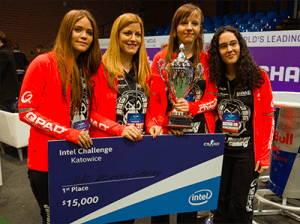 Team Secret all-female esports team