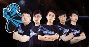 Newbee eSports pro gaming team