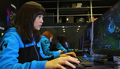 HK festival female only esports comp
