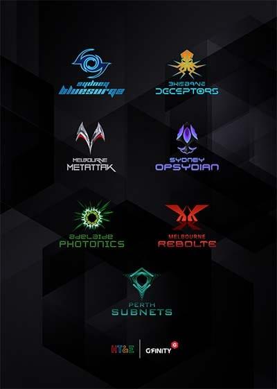Gfinity Australian esports city league line-up