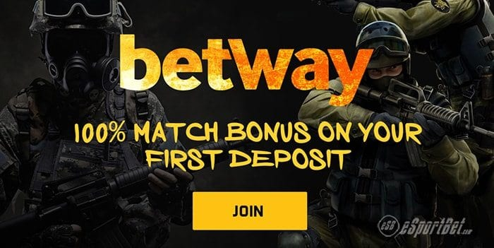 Betway esports betting site bonus