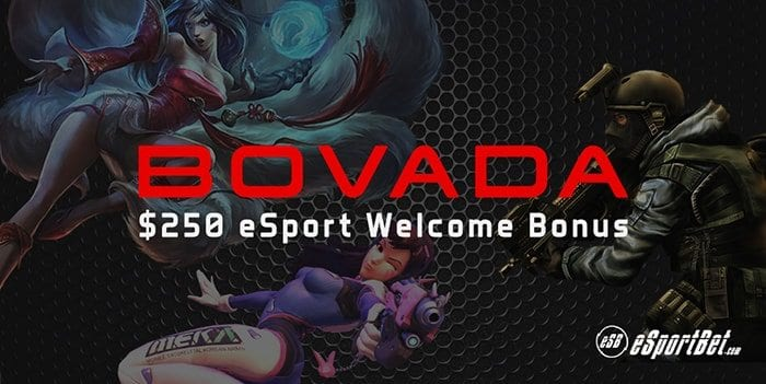 Bovada.lv esports betting site review