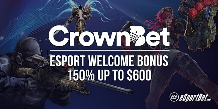 CrownBet online esports betting site review