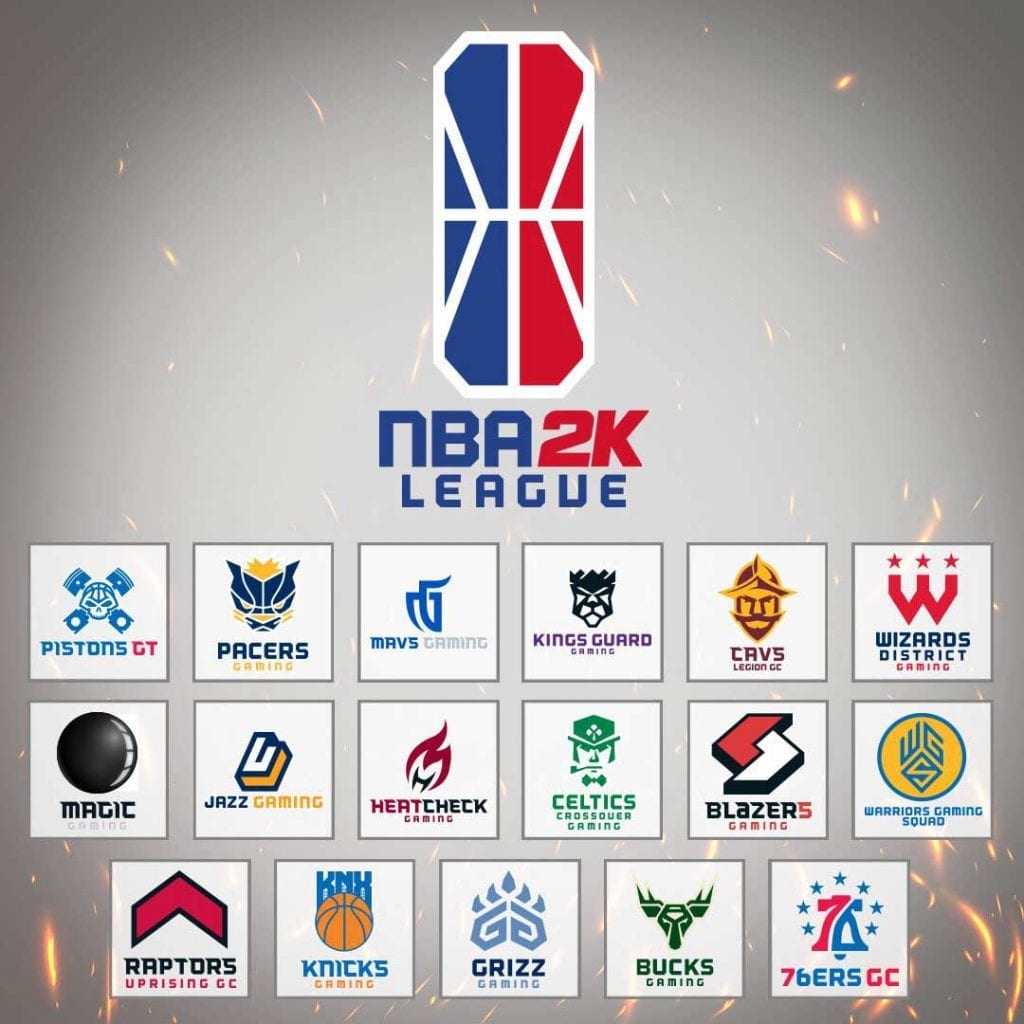 NBA 2K League official team roster