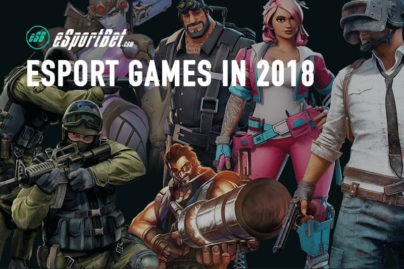 Esports games in 2019 | New and upcoming competitive video games