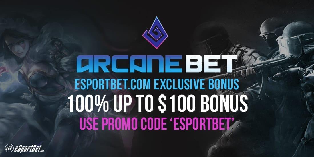 Arcanebet deposit bonus code