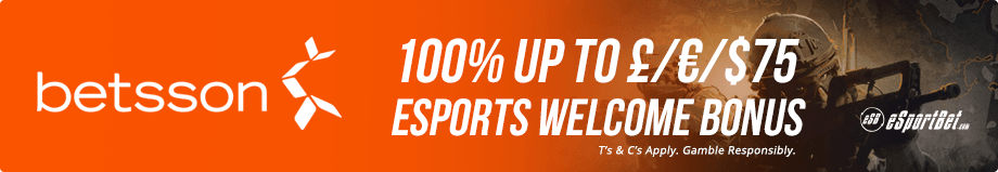 Betsson esports betting site EU and UK