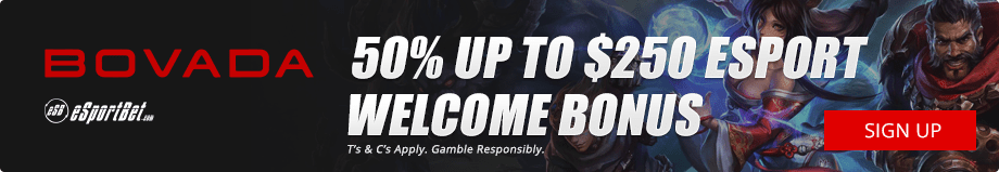 Bovada.lv League of Legends esports betting site USA