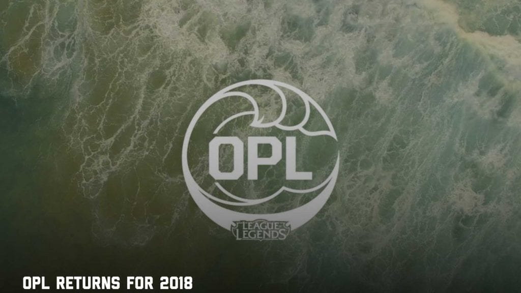 Oceanic Pro League - League Of Legends betting