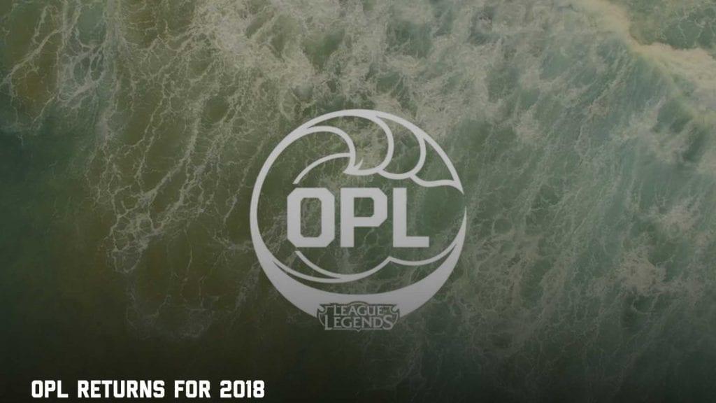 Oceanic Pro League - League Of Legends betting