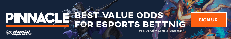 Pinnacle.com bet on Heroes of the Storm tournaments