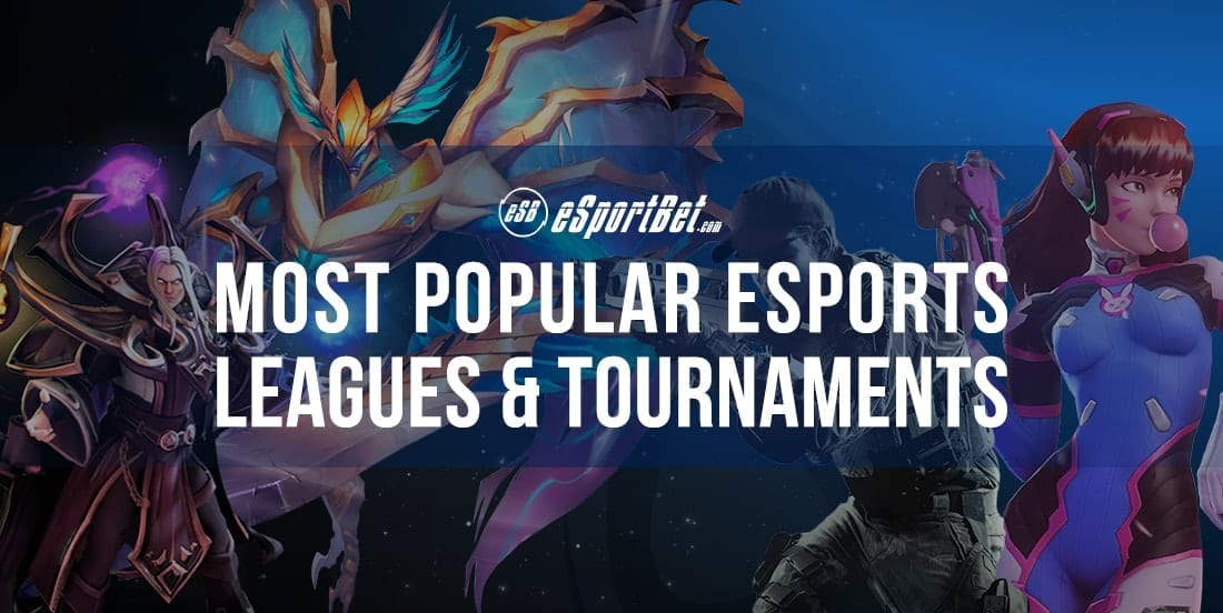 National and international esports leagues and tournaments