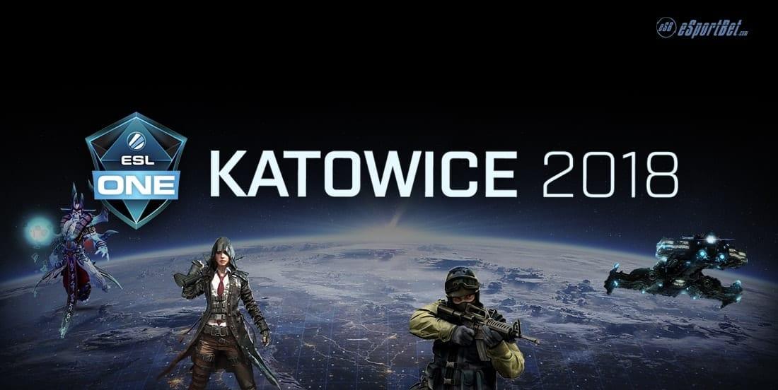 Katowice 2018 esports betting
