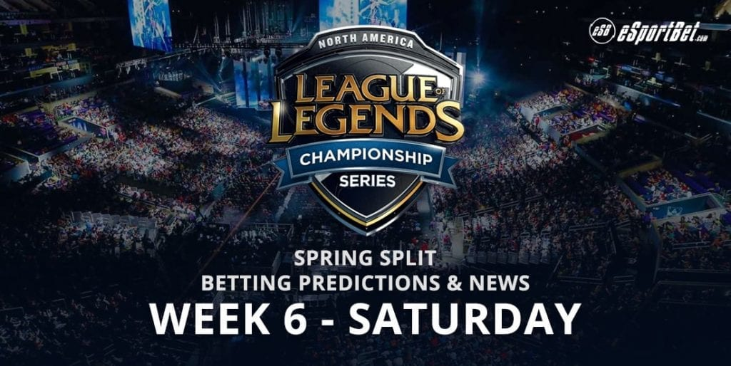 League of legends wk 6 betting