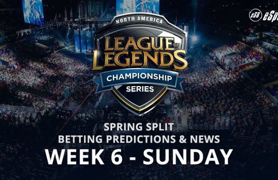 League of Legends wk 6 Sunday betting tips