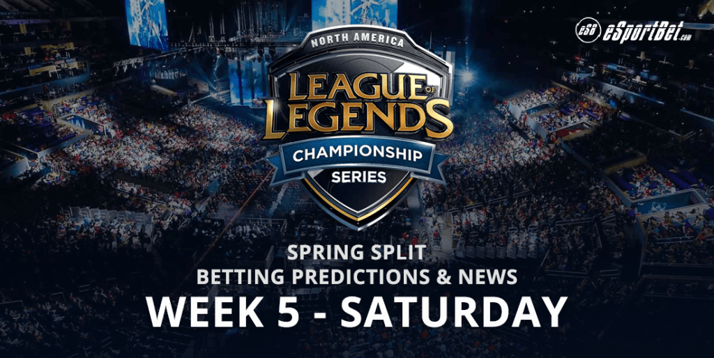 Week 5 North American Spring Split League Of Legends
