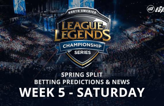 Week 5 North American Spring Split League Of Legends