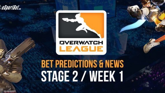 Overwatch Stage 2 Week 2 Betting Odds