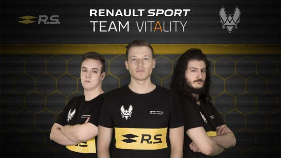Renault and Team Vitality have joined forces