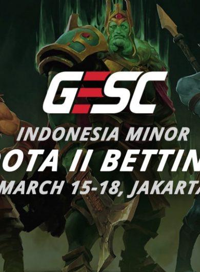 Dota 2 betting Indonesia Minor