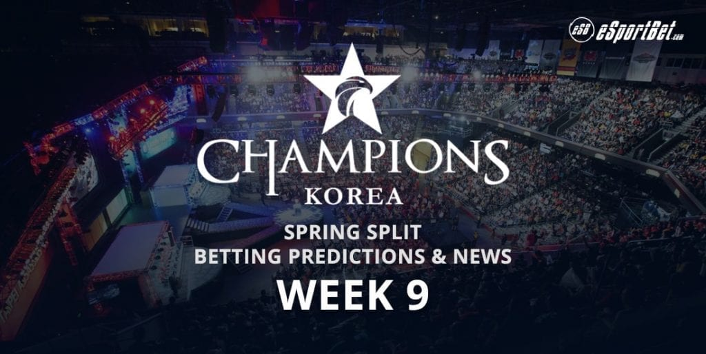 LCK Korea Week 9 betting tips