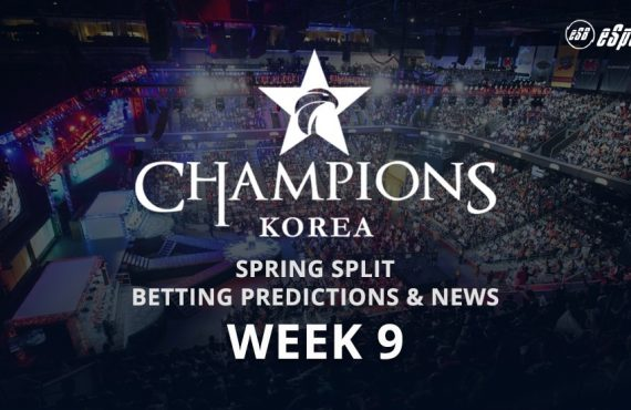 LCK Korea Week 9 betting tips