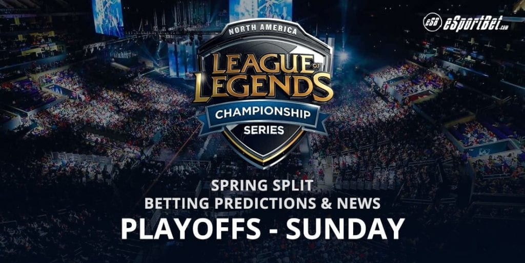 League of Legends Sunday Playoffs betting
