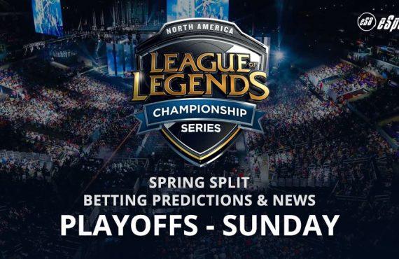 League of Legends Sunday Playoffs betting