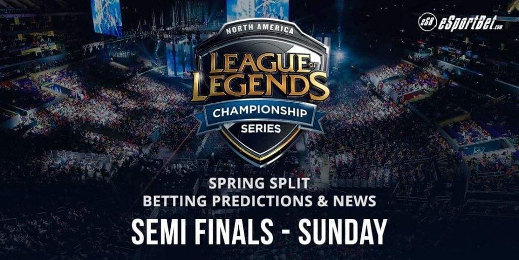 North America LOL esports betting