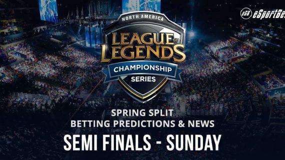 North America LOL esports betting