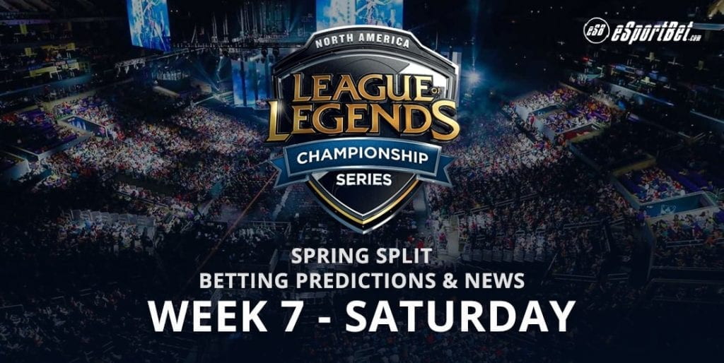 League of Legends Wk7 NA LCS