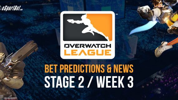 Overwatch League Stage 2 Week 3 betting tips