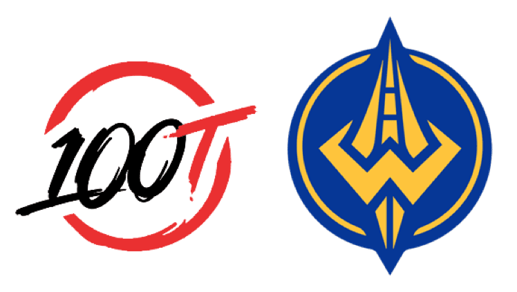 100 Thieves v Golden Guardians betting odds