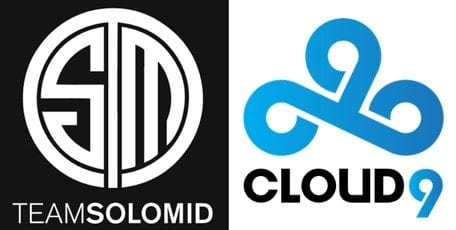 Solo Mid v Cloud9 betting odds