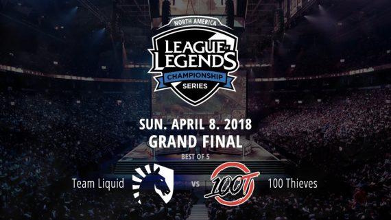 LoL NA Grand Final betting odds