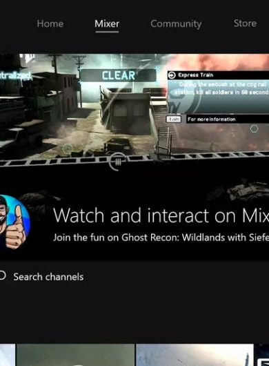 Microsoft Mixer streaming service