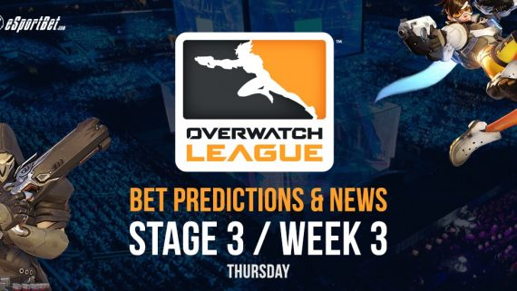 Overwatch League stage 3 week 3 betting guide