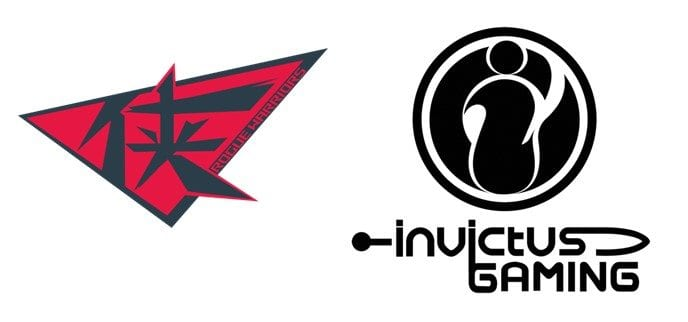 Rogue Warriors vs Invictus Gaming