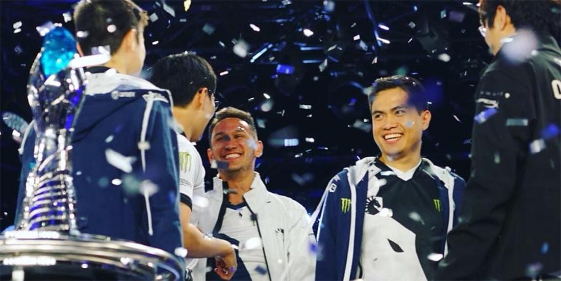 Team Liquid win the NA LCS Championship