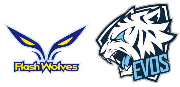 Flash Wolves vs EVOS Esports