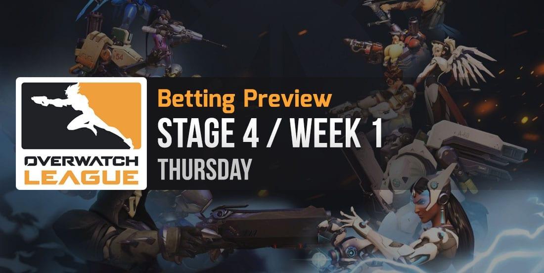 Overwatch League Thursday tips