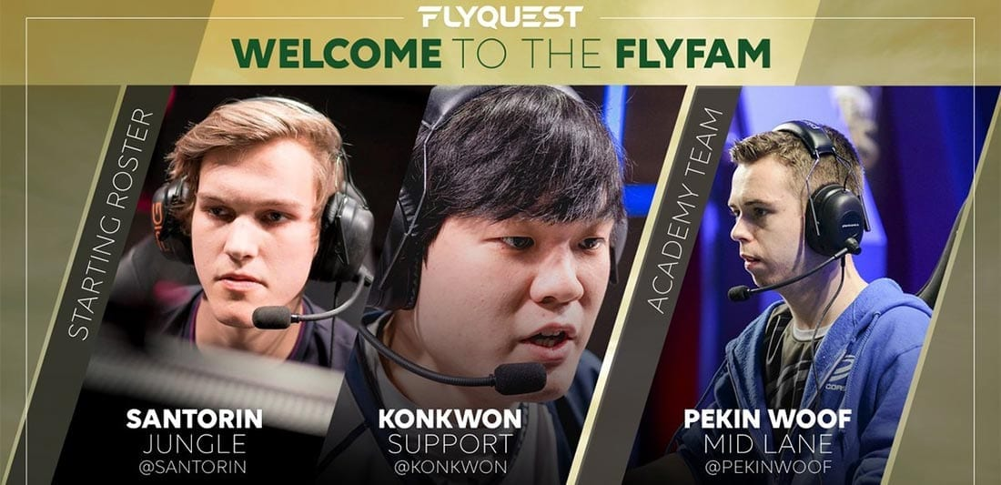 FlyQuest roster for NA LCS Summer Split