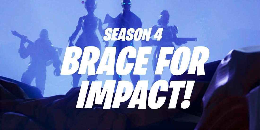 fortnite season 4 - team impact fortnite