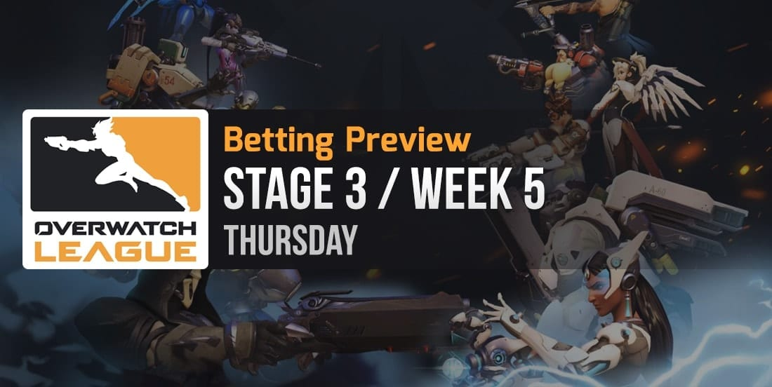 Overwatch League betting preview Thursday