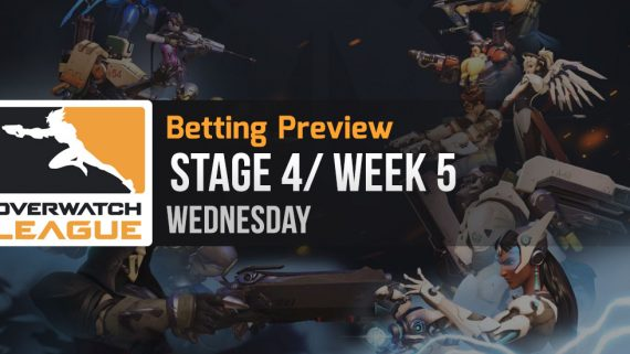 Overwatch League Stage 4 Week 5 Wednesday