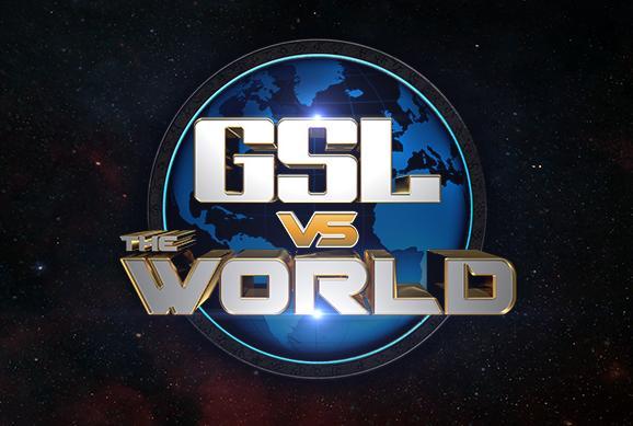 Gsl Vs The World Bracket