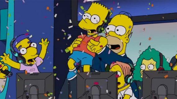 Simpsons esports