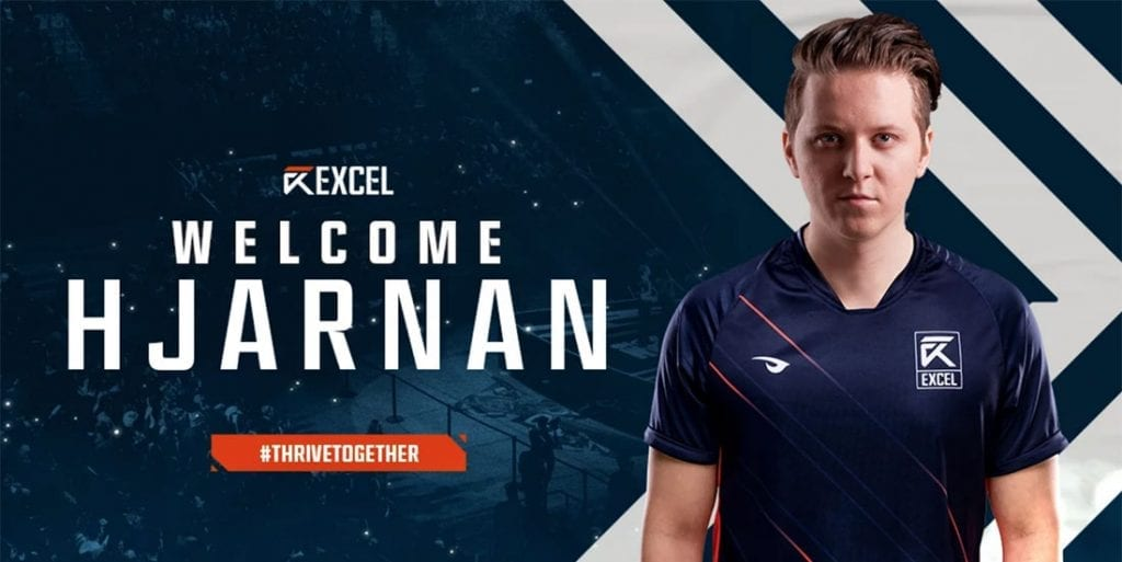 Hjarnan joins Excel Esports